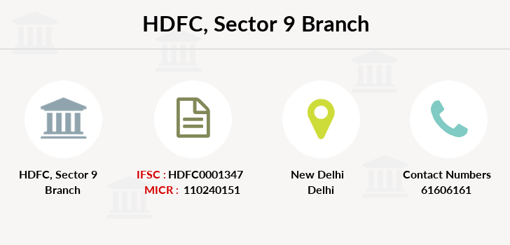 Hdfc-bank Sector-9 branch