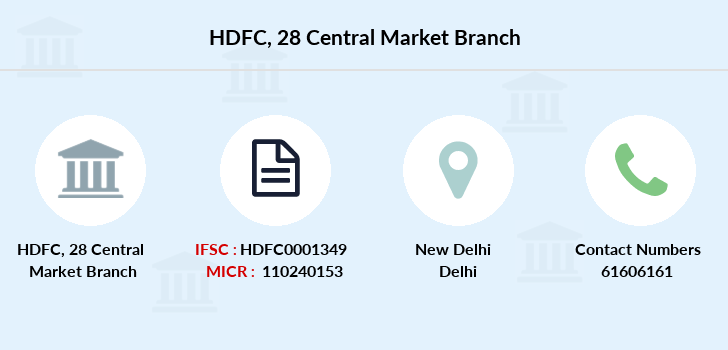 Hdfc-bank 28-central-market branch