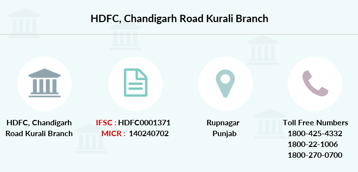 Hdfc-bank Chandigarh-road-kurali branch