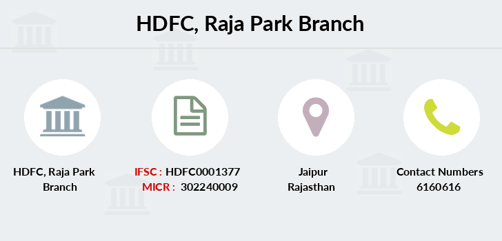 Hdfc-bank Raja-park branch