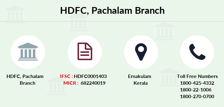 Hdfc-bank Pachalam branch