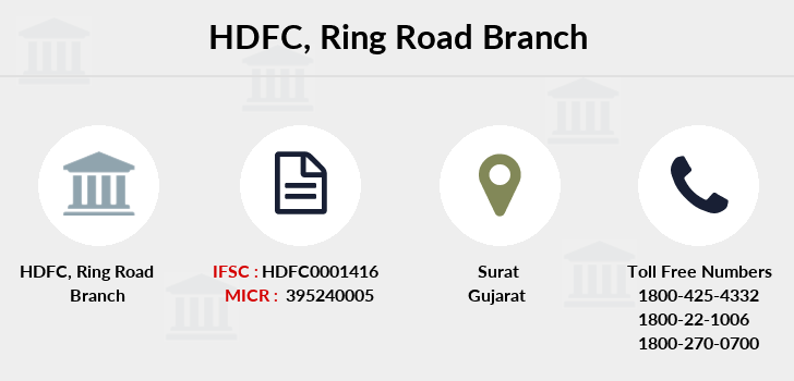 Hdfc-bank Ring-road branch