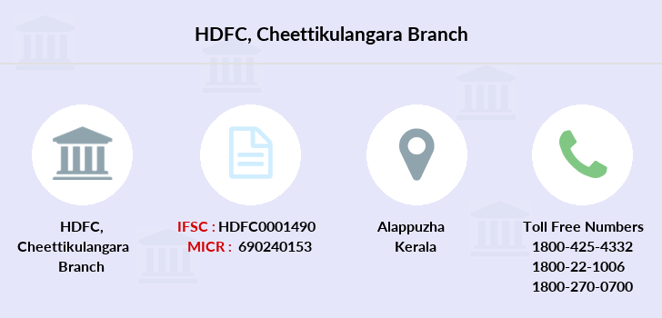 Hdfc-bank Cheettikulangara branch