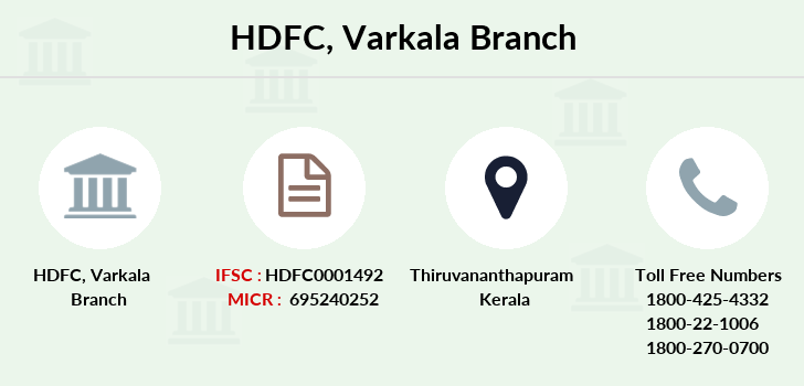 Hdfc-bank Varkala branch