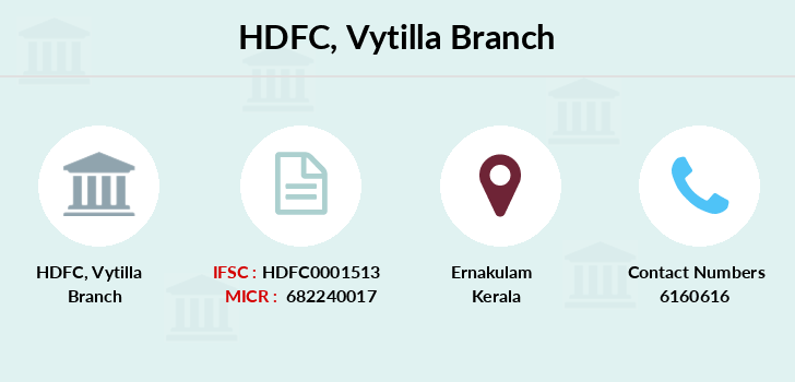 Hdfc-bank Vytilla branch