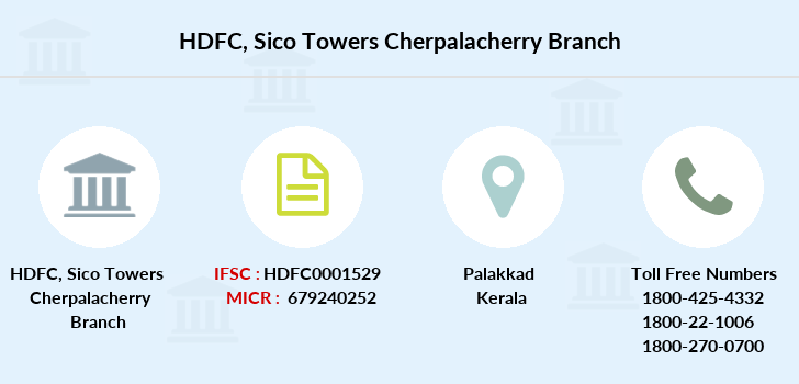 Hdfc-bank Sico-towers-cherpalacherry branch