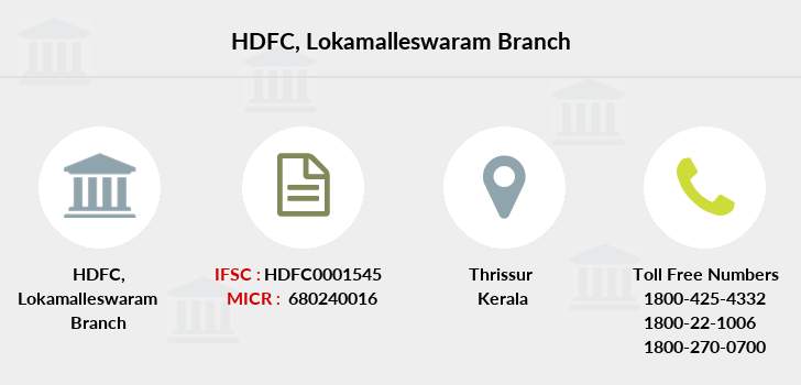 Hdfc-bank Lokamalleswaram branch