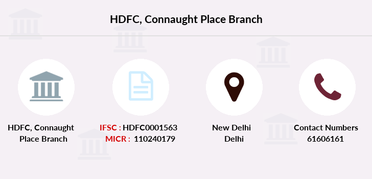 Hdfc-bank Connaught-place branch