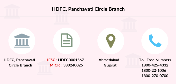 Hdfc-bank Panchavati-circle branch