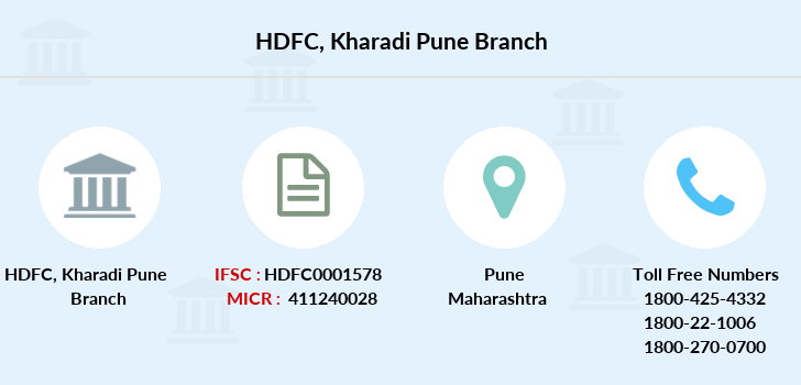 Hdfc-bank Kharadi-pune branch
