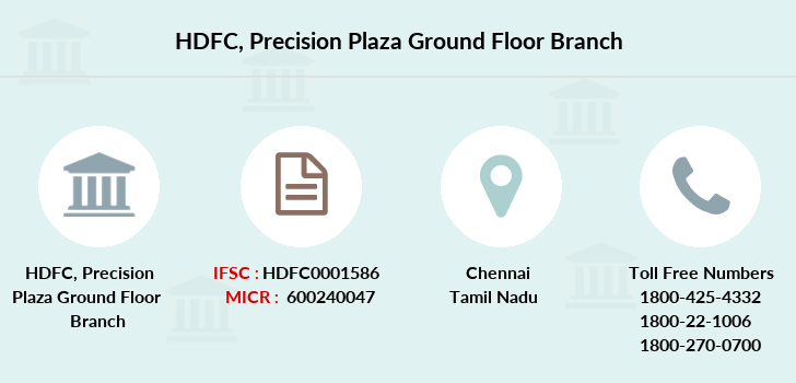 Hdfc-bank Precision-plaza-ground-floor branch