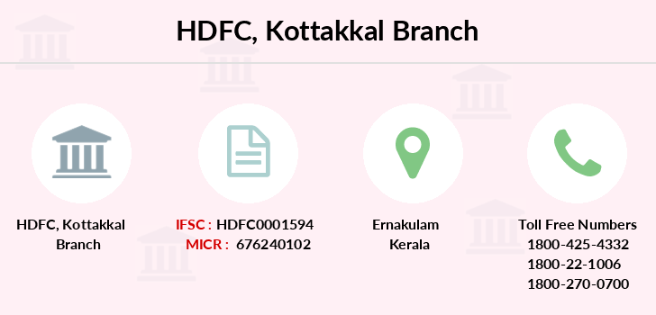 Hdfc-bank Kottakkal branch