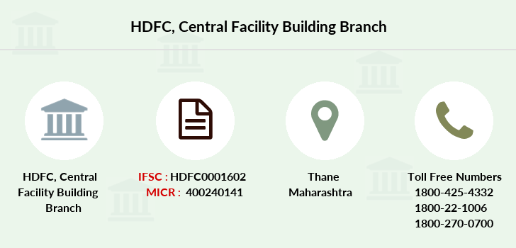 Hdfc-bank Central-facility-building branch