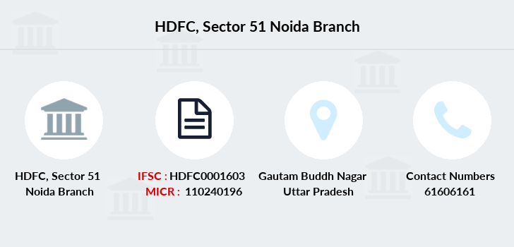 Hdfc-bank Sector-51-noida branch