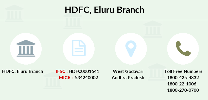 Hdfc-bank Eluru branch