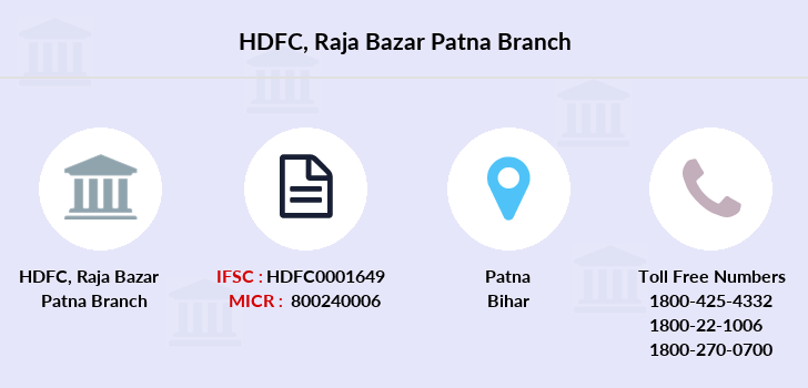 Hdfc-bank Raja-bazar-patna branch