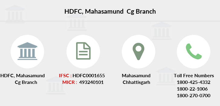 Hdfc-bank Mahasamund-cg branch