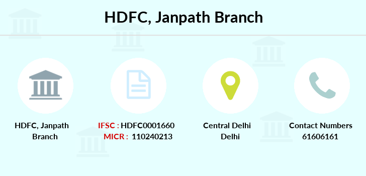 Hdfc-bank Janpath branch