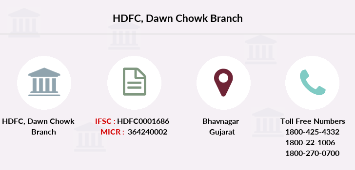 Hdfc-bank Dawn-chowk branch