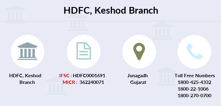 Hdfc-bank Keshod branch