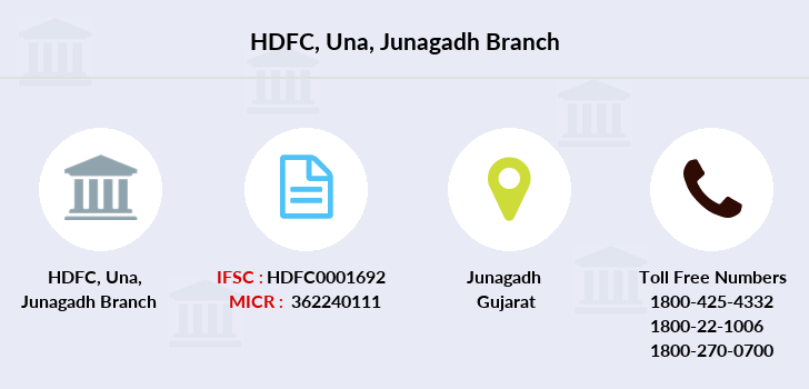 Hdfc-bank Una-junagadh branch