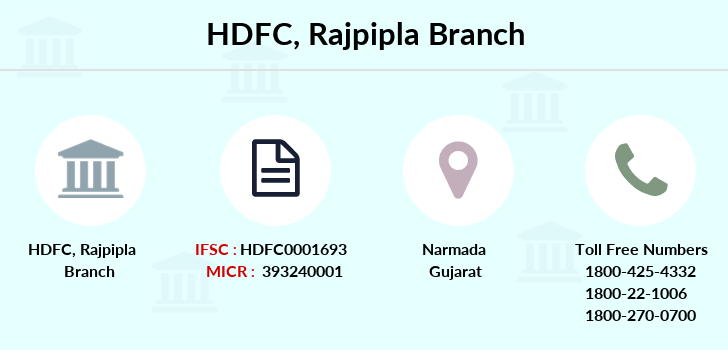 Hdfc-bank Rajpipla branch