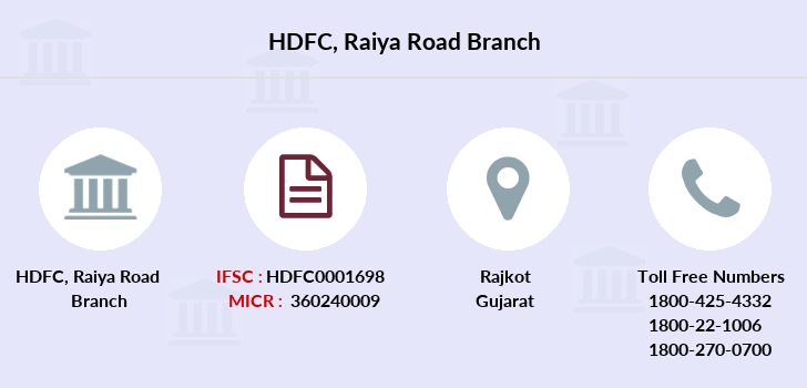Hdfc-bank Raiya-road branch
