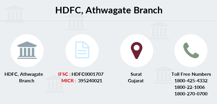 Hdfc-bank Athwagate branch