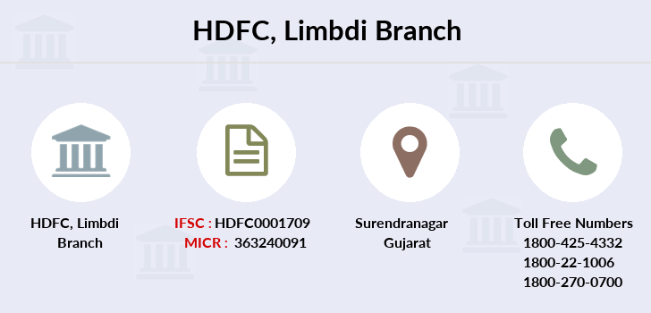 Hdfc-bank Limbdi branch