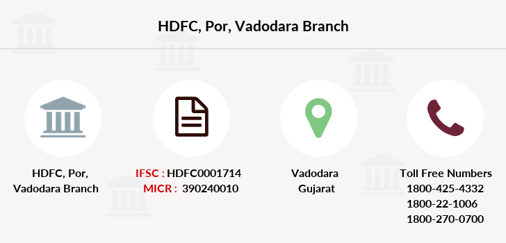 Hdfc-bank Por-vadodara branch