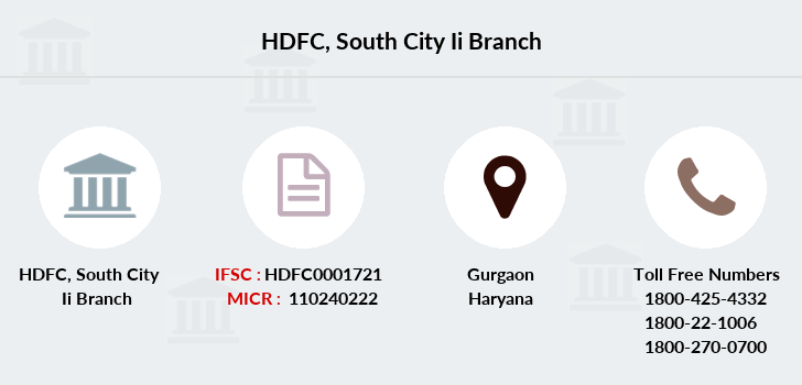 Hdfc-bank South-city-ii branch