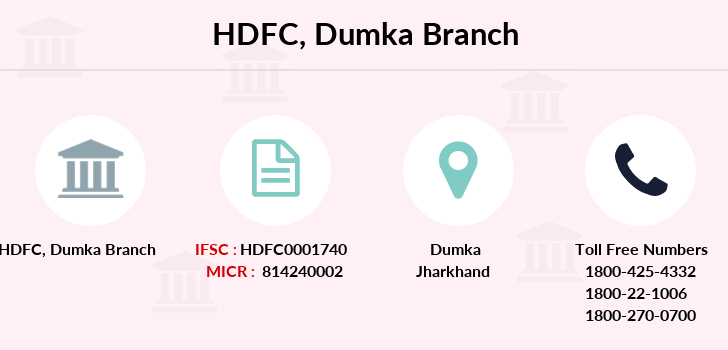 Hdfc-bank Dumka branch