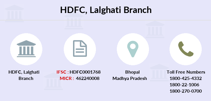 Hdfc-bank Lalghati branch