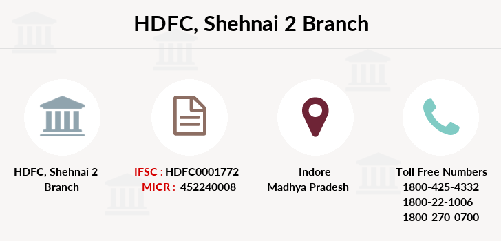 Hdfc-bank Shehnai-2 branch