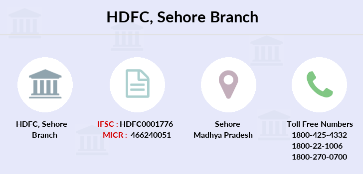Hdfc-bank Sehore branch