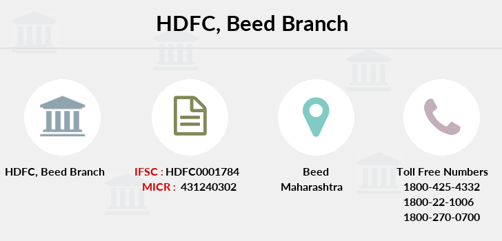 Hdfc-bank Beed branch
