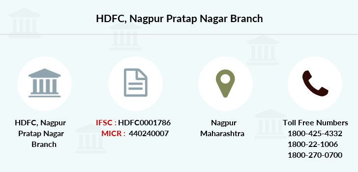 Hdfc-bank Nagpur-pratap-nagar branch