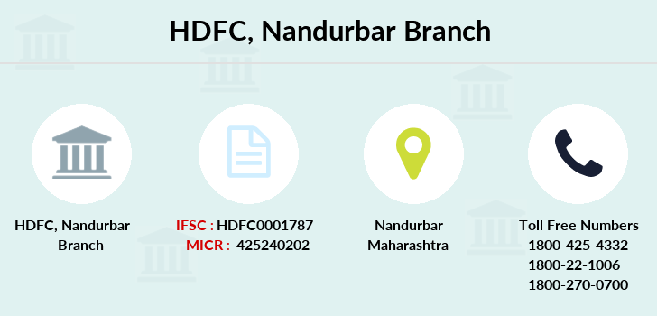 Hdfc-bank Nandurbar branch