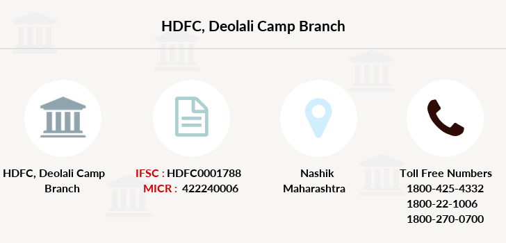 Hdfc-bank Deolali-camp branch