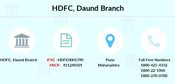 Hdfc-bank Daund branch