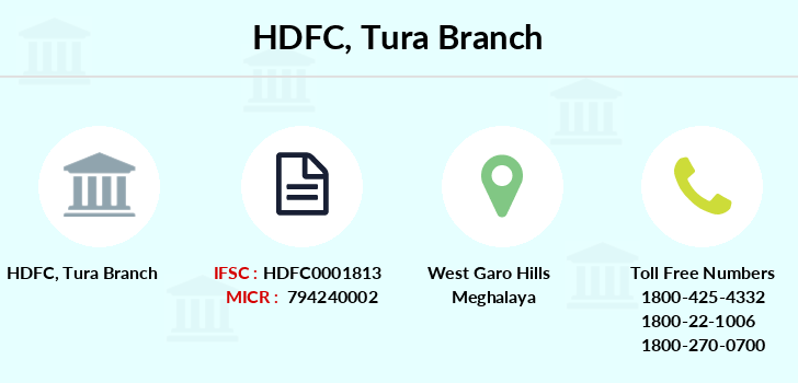 Hdfc-bank Tura branch