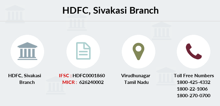 Hdfc-bank Sivakasi branch