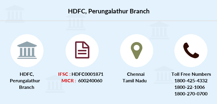Hdfc-bank Perungalathur branch
