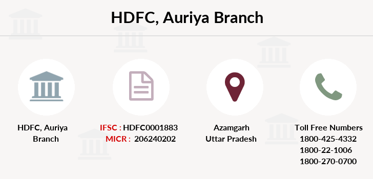 Hdfc-bank Auriya branch