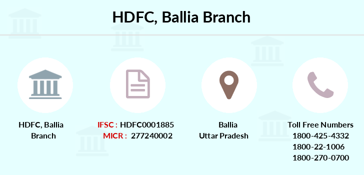 Hdfc-bank Ballia branch