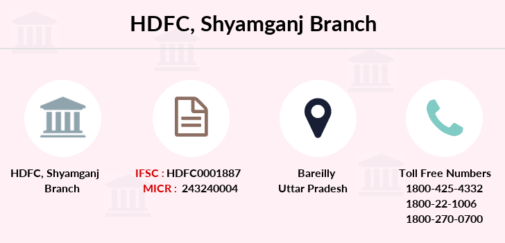 Hdfc-bank Shyamganj branch