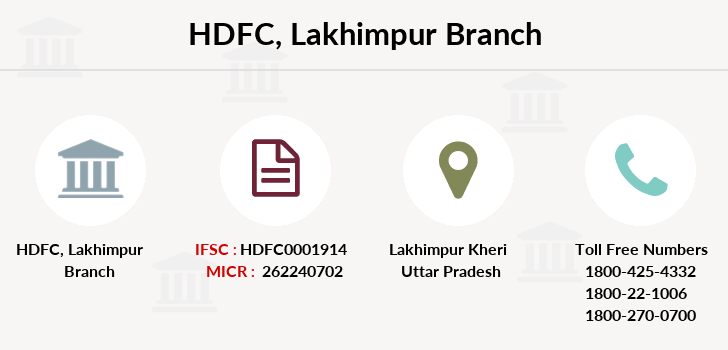 Hdfc-bank Lakhimpur branch