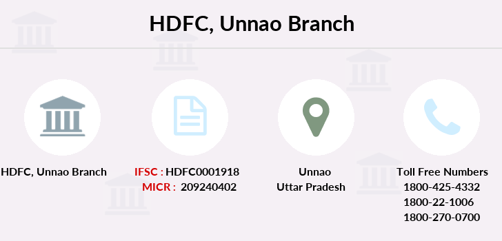 Hdfc-bank Unnao branch