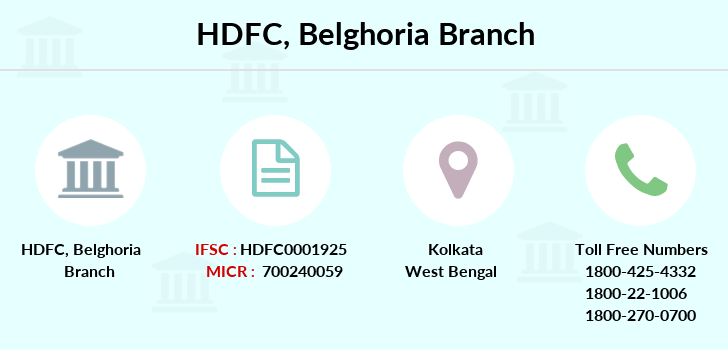 Hdfc-bank Belghoria branch