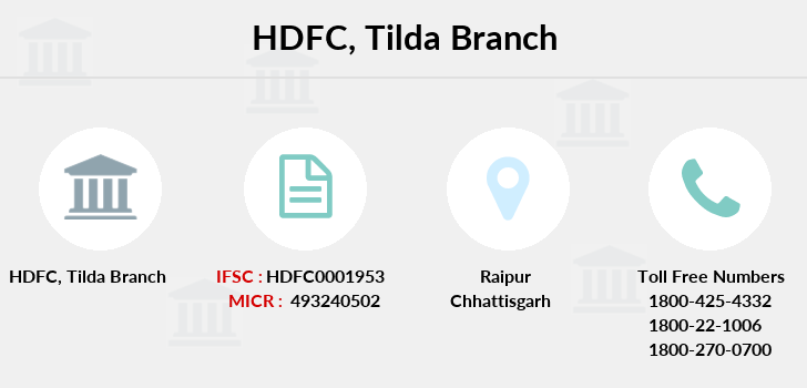 Hdfc-bank Tilda branch